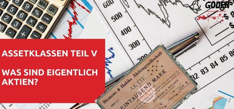 Assetklassen- Teil V: Was sind Aktien?
