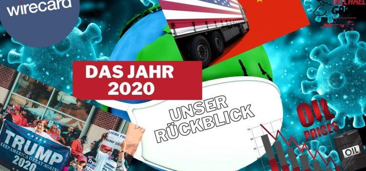 Das Jahr 2020 – Rückblick
